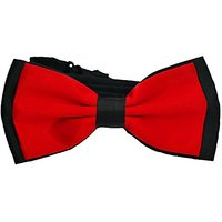 My Buddy M12 - Handmade Dog/cat Bow Tie For Medium & Large Pets (Free Attached Soft Fabric Collar) Double Layer Butterfl