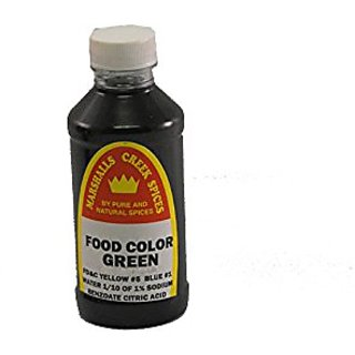 Marshalls Creek Spices Food Coloring, Green, 8 Ounce