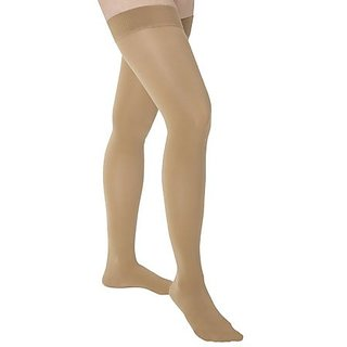 Mediven Comfort 20-30mmHg Thigh High with Silicone Band : Natural Size V