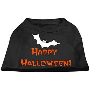 Mirage Pet Products Happy Halloween Screen Print Shirts Black M (12)