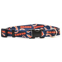 Yellow Dog Design Chicago Bears Licensed NFL Dog Collar, X-Small, 8-Inch By 12-Inch
