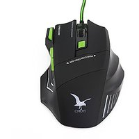 CHUYI 3200 DPI LED Ergonomic USB Wired Gaming Mouse