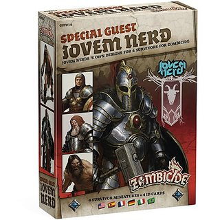 Zombicide: Plague Special Guest Jovem Nerd Limited Edition Board Game, Black