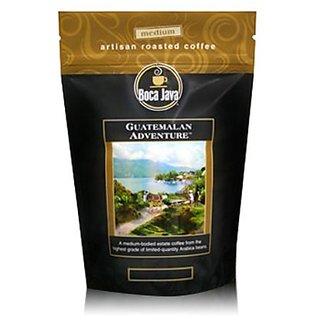 Boca Java Roast to Order, Guatemalan Adventure, Whole Bean, Medium Roast Coffee, 8 oz. bags (Pack of 2)