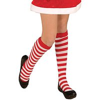 Forum Novelties Novelty Candy Cane Striped Child Christmas Socks