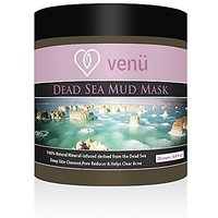 Venu Beauty Dead Sea Mud Mask - Mineral Enriched Spa Facial Treatment For Wrinkles, Acne, Under Eye Circles, Dark Spots