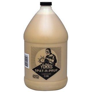 York 106-1 Spat-R-Pruf Compound 106, 1 gal Bottle, Yellow