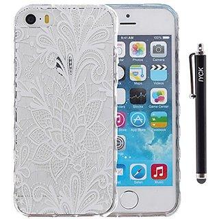 iPhone SE Case, iPhone 5S Case, iYCK Ultra Slim Thin Premium Flexible Soft TPU Extra Grip Anti-Scratch Protective Transp
