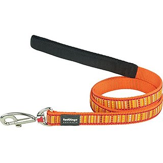 Red Dingo Lotzadotz Orange Dog Lead, Large