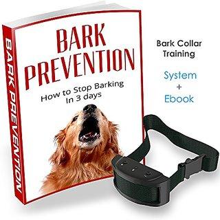 Bark Collar Training System with Barking Collar Training E-Book