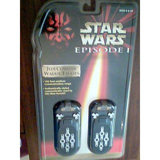 Star Wars Episode 1 Jedi Comlink Walkie Talkies