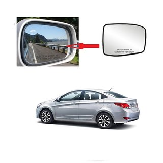 Carsaaz Left Side Sub-Mirror Plate for Hyundai Verna Type 2