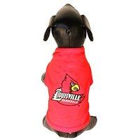 NCAA Louisville Cardinals Cotton Lycra Dog Tank Top, Small