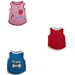 Iconic Pet Tank Top (Pack of 3), X-Large