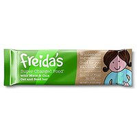 Freidas Pantry Super Charged Food (Maca & Chia) Snack Bar 40g, Pack Of 12