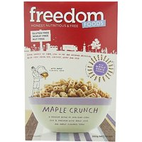 Freedom Foods Ultra Maple Rice Crunch, 10.5 Ounce Boxes (Pack Of 5)