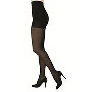 Sigvaris 841P Soft Opaque 15-20 mmHg Closed Toe Pantyhose Color: Black 99, Size: Medium Long (ML)