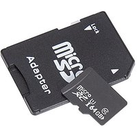 Season Ultra 64GB Micro SDXC UHS-I Card Class 10 With Adapter Up To 80MB/s High Speed Memory Card TF Card