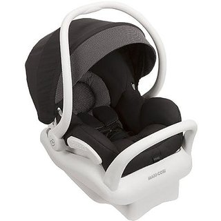 Maxi-Cosi 2014 Maxi Cosi Mico AP Infant Car Seat White Collection, Black, 0-12 Months (Prior Model)
