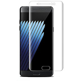 Galaxy Note 7 Screen Protector, Pandawell Curved Full Coverage 9H Hardness Tempered Glass Screen Protector for Samsung G