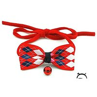 Dog Bow Tie,Linka Adjustable Dog Bow Tie Pet Collar Fashion Accessories For Pet Dog Cat