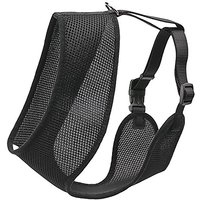 Coastal Pet Products DCP6913MEDBLK Nylon Comfort Soft Adjustable Dog Harness, Medium, Black