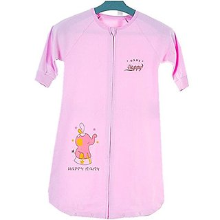 Gemini Fairy Cotton Baby Sleepsack Infant Wearable Blanket (L, Pink)