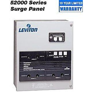 Leviton 52277-CM3 277/480 Volt 3PY 4-Mode Modular Surge Panel NEMA 12