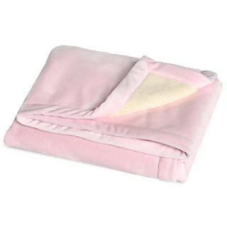 JJ Cole BundleMe Throw Blanket, Pink