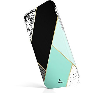 iPhone 6 Plus 6s Plus case for girls, Akna New Glamour Series Flexible Soft TPU cover with Fabulous Glossy Pattern for i
