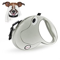 Retractable Dog Leash, Luxury Color, Durable & Comfortable ?Pet Leashes, High Strength Nylon Up To 50lbs And 10ft Long,