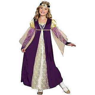 SugarSugar Girls Royal Princess Costume, One Color, Small, One Color, Small