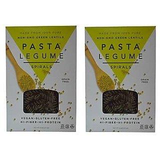 Pasta Legume 100% Lentil Spiral Pasta, 8 Ounce (Pack of 2)
