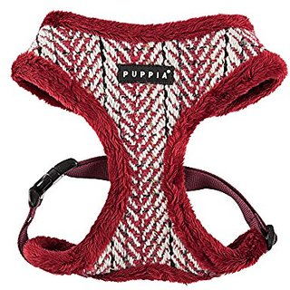 Puppia Authentic Harness A, Medium, Wine