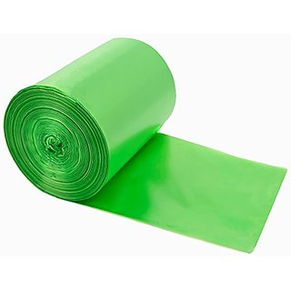 Kekow Kitchen Trash Bag, 13 Gallon, Green, 125 counts