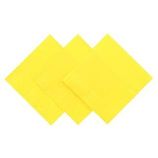 Royal Yellow Beverage Napkin, Package of 200