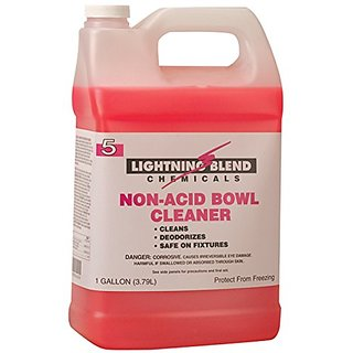 Franklin Cleaning Technology F454022 Lightening Blend #5 Non-Acid Bowl Cleaner, 1 Gallon (Pack of 4)