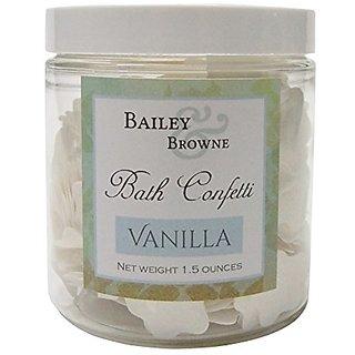 Bath Confetti Vanilla Flowers Soap Flakes