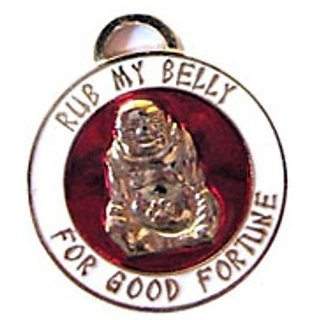 Luxepets Lucky Buddha -InchRub My Belly-Inch Charm