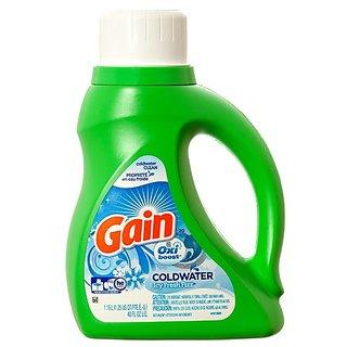 Gain Oxi Boost Icy Fresh Fizz Liquid Laundry Detergent 40 Oz