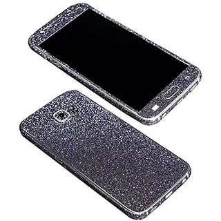 Dreams Mall(TM)Top Fashion Bling Glitter Crystal Diamond Whole Body Protector Film Sticker for Samsung Galaxy S6-Black