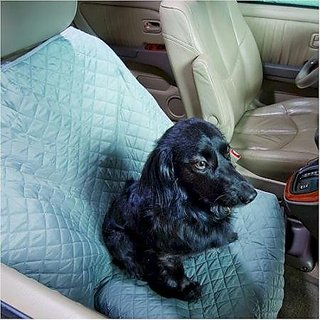 Snoozer Pet Sleeper Car Robe Bucket Seat Protector, Black