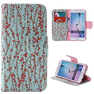 Galaxy S6 Case,Samsung S6 Case,S6 Case,leather Flip Credit Card Wallet Protective Case Magnetic Clasp for Samsung Galaxy