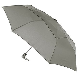 Stromberg Brand The Vented Mighty Mite Umbrella, Gray, One Size