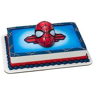 SpiderMan Cake Topper - Ultimate Light Up Eyes DecoSet