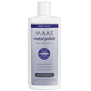 Maas International Liquid Metal Polish, 8-Ounce