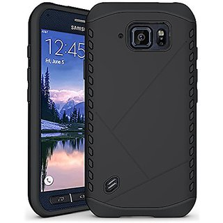 Hyperion EA Samsung Galaxy S6 Active Case. Hyperion Titan 2-piece Premium Hybrid Protective Case / Cover for Samsung Gal