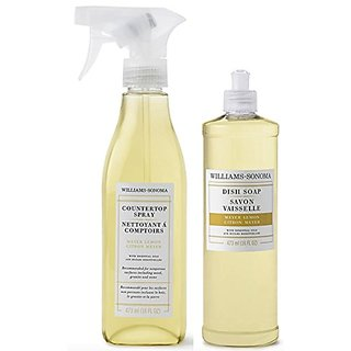 Williams Sonoma Countertop Cleaning Spray and Dish Soap 16 Ounces (Meyer Lemon)