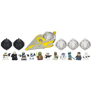 Star Wars Fighter Pods Figure 12Pack - Jedi Starfighter Pack (Characters May Vary)