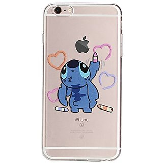 (6s/6 Plus(5.5inch)-Silicone Case) DOMIRE iPhone 6 Plus 6s Plus(5.5inch) Cases Lovely Cartoon Character Soft TPU Silicon